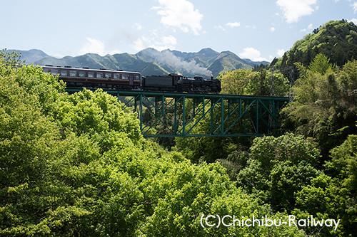 第13回秩父鉄道写真コンテスト【SL部門】入選