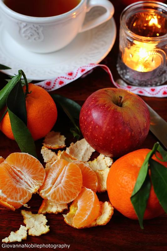 Frutta invernale e tè