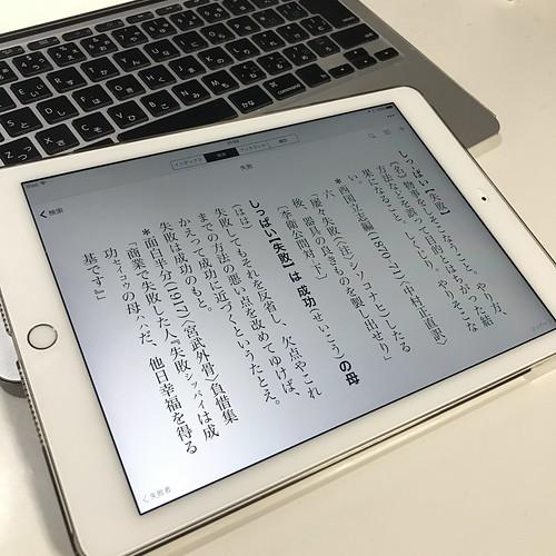 日本国語大辞典iPad版