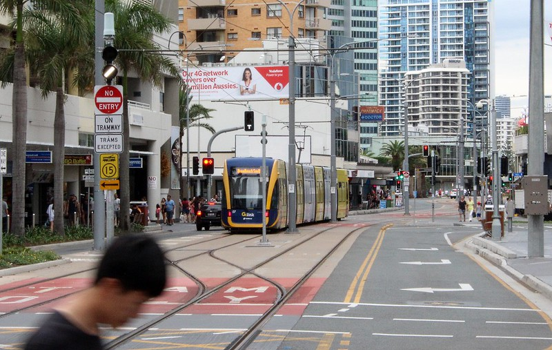 Gold Coast Light Rail: Surfers Paradise