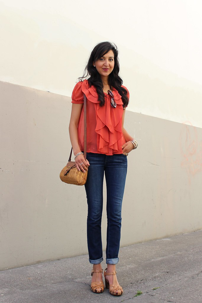 Orange Casual  3