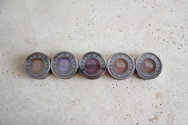 Urban Decay Summer 2015 Eyeshadow review