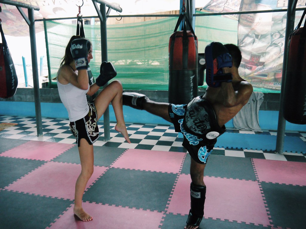 Thai boxing training Yodyut Muay Thai / Koh Samui / Kirsty Wears Blog