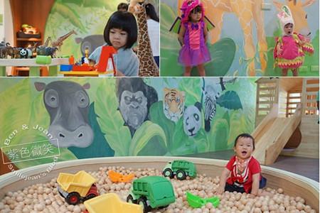 童遊森林館▋台北市親子室內遊戲樂園~開闊空間進口木製玩具超吸睛