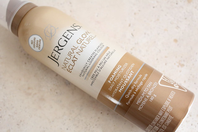 Jergens Natural Glow Foaming Moisturizer review