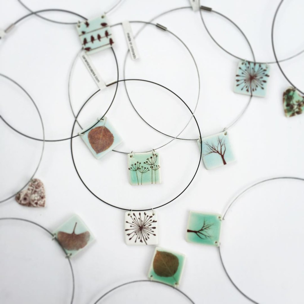 Shipping Out Botanic Themed Ceramic Necklaces Today Now Flickr