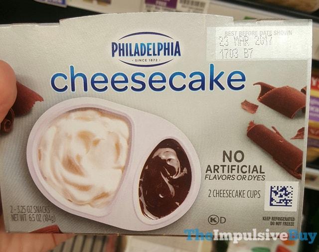 Philadelphia White Chocolate Cheese Cake