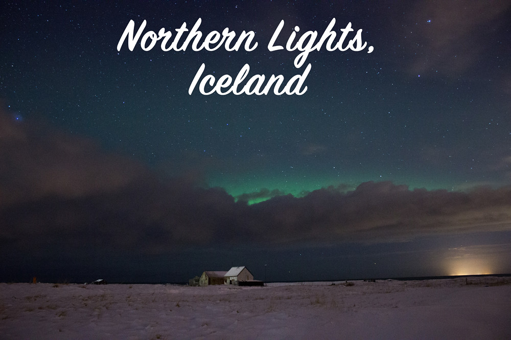 Seeing and photographing the northern lights in Iceland with Arctic Shots