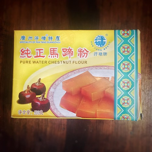 Chinese, chinese new year, recipe, Water Chestnut Cake, water chestnut jelly, dessert,  馬蹄糕, cantonese, traditional, 中國新年