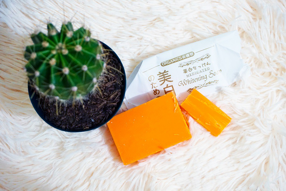 Yamashiro Japan's Organic Deep Intensive Whitening Soap