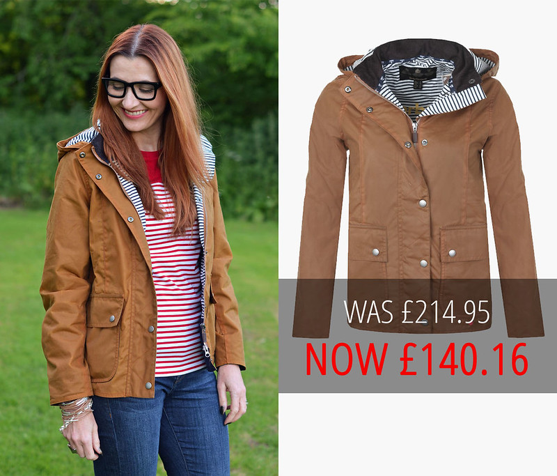 Summer sales | Barbour brown Godrevy jacket