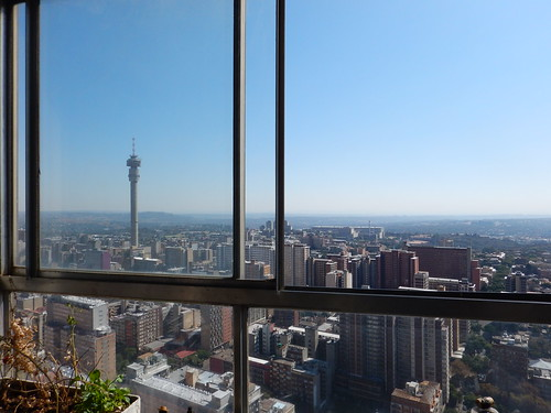 View from 52nd Floor Ponte City Tower, Hillbrow