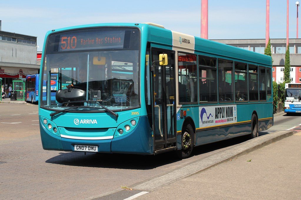 Arriva Southern Counties Arriva Kent Thameside 3995 Gn