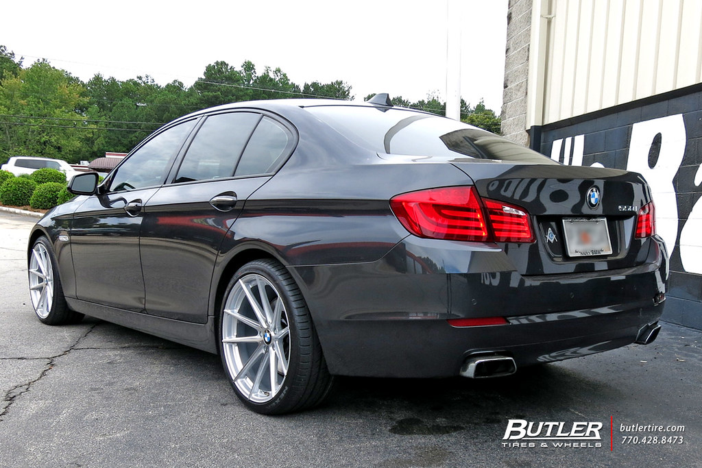 Bmw 550i With 20in Tsw Bathurst Wheels View Additional