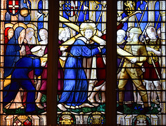 war memorial window (Ninian Comper, 1920)