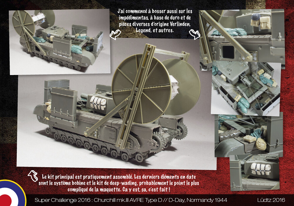 Ludtz // Super Challenge 2016 // Churchill AVRE Carpet Layer AFV Club + Bren Carrier Tamiya 1/35 - Page 5 31734492254_b376c07f22_b