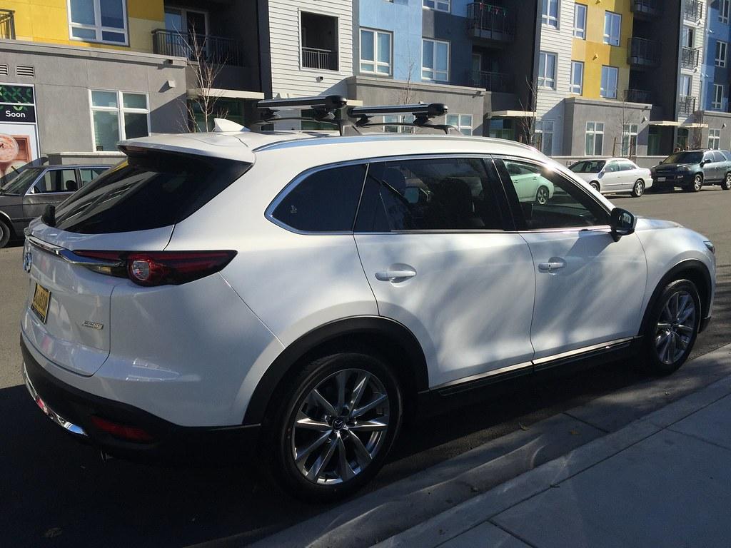 Roof Rack Cross Bars Mazda Cx 9 Cosmecol