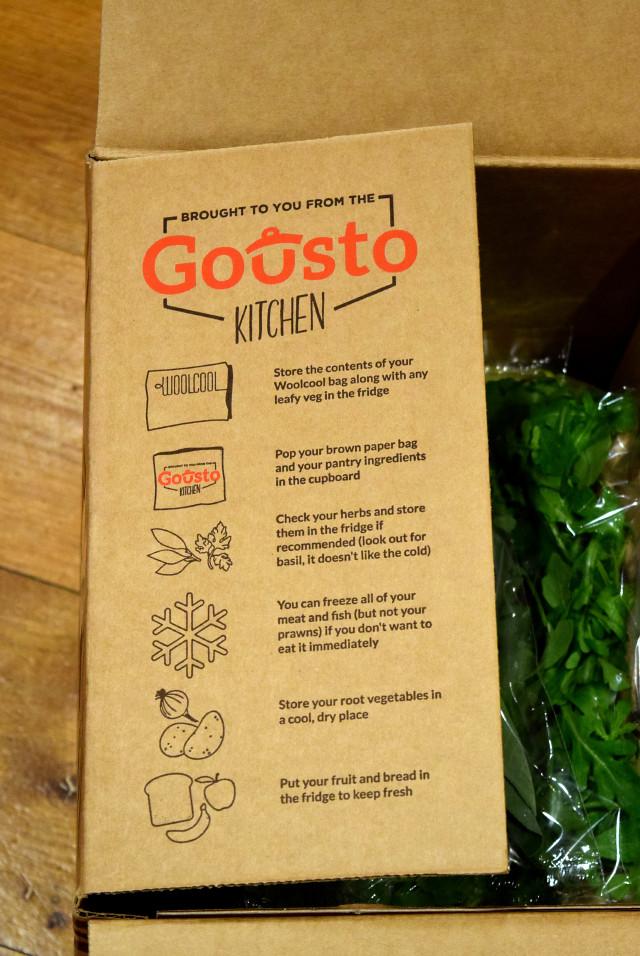 Gousto Recipe Box Packaging | www.rachelphipps.com @rachelphipps