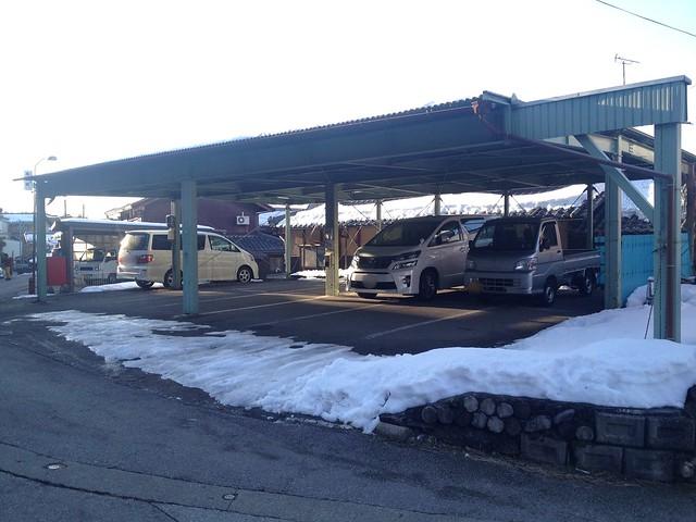 伊吹山 民間駐車場