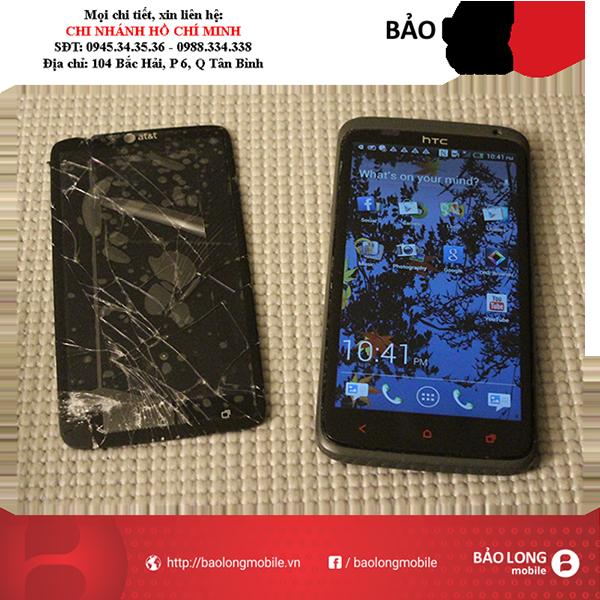 Những vấn đề gặp phải ở phím cứng sau khi thay màn hình HTC One X