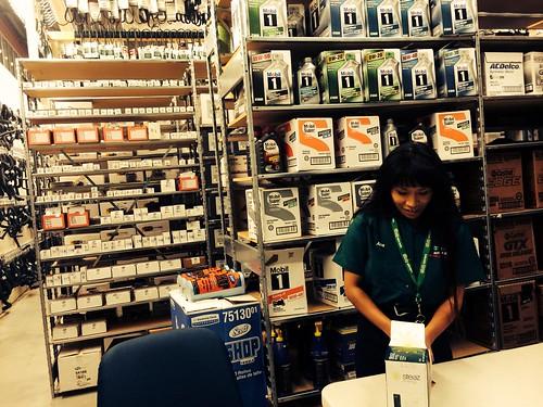 Ana at Work (June 27 2014) (1)