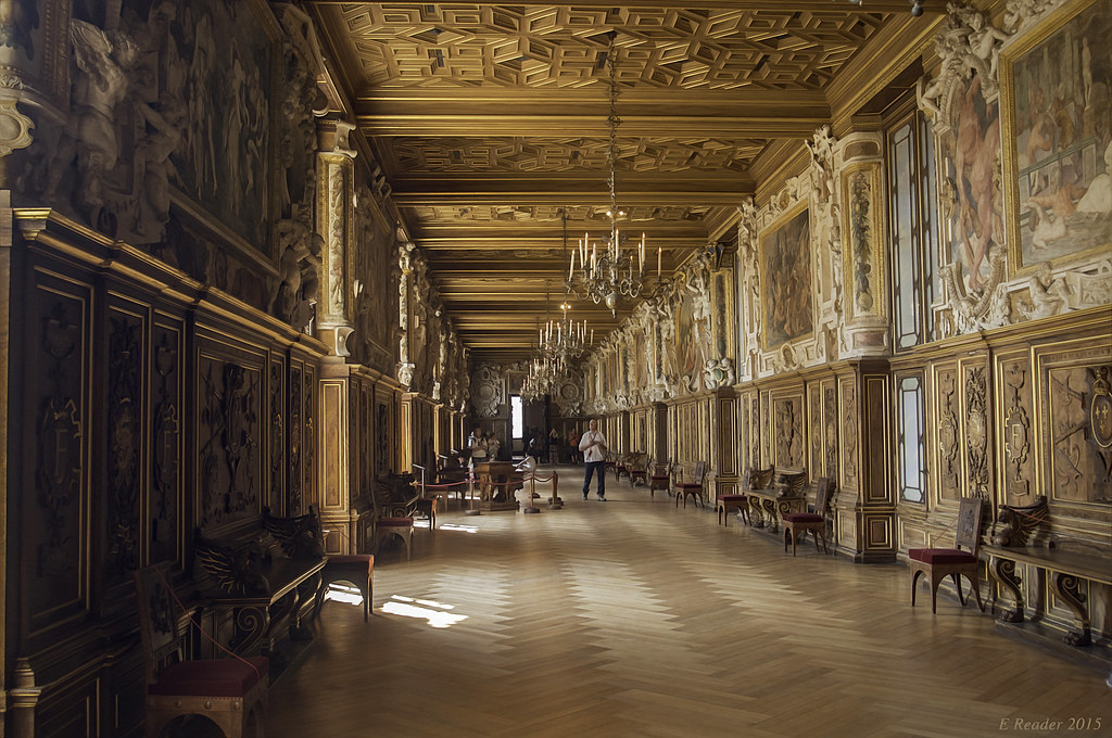Palace Of Fontainebleau Gallery Of Francis I The