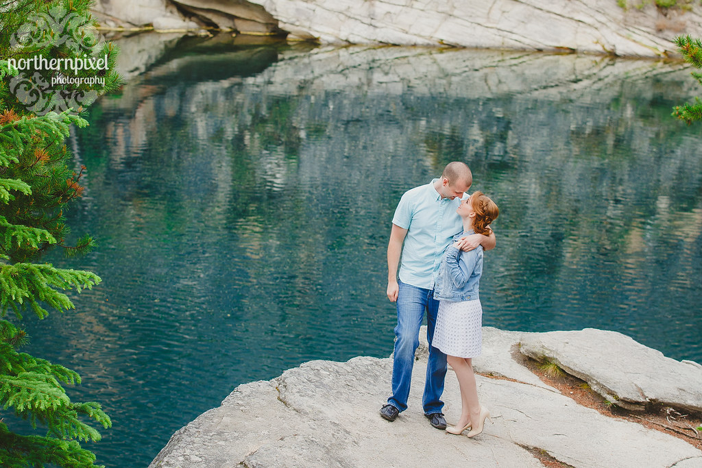 Horseshoe Lake Engagement Session Jasper Wedding Elopement