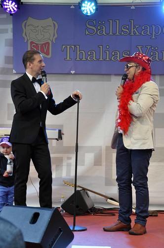 Per-Olof Gustavsson presenterar Robert Haglund