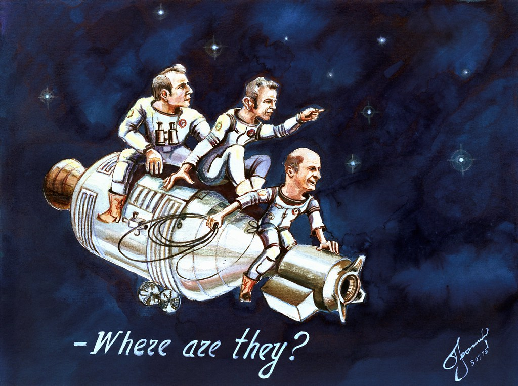 American Apollo Soyuz Test Project Mission Crewmen Flickr