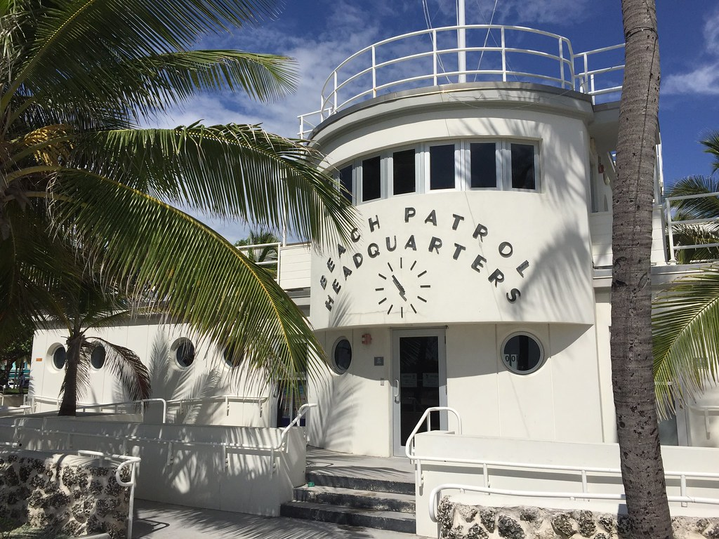 miami beach art deco walking tour beach patrol headquarter flickr