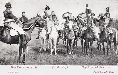 Napoléon à Austerlitz (2 déc. 1805)