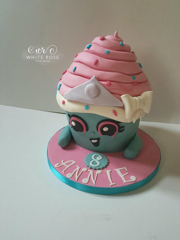 Shopkins Cupcake Princess Birthday Cake By White Rose Cake Flickr