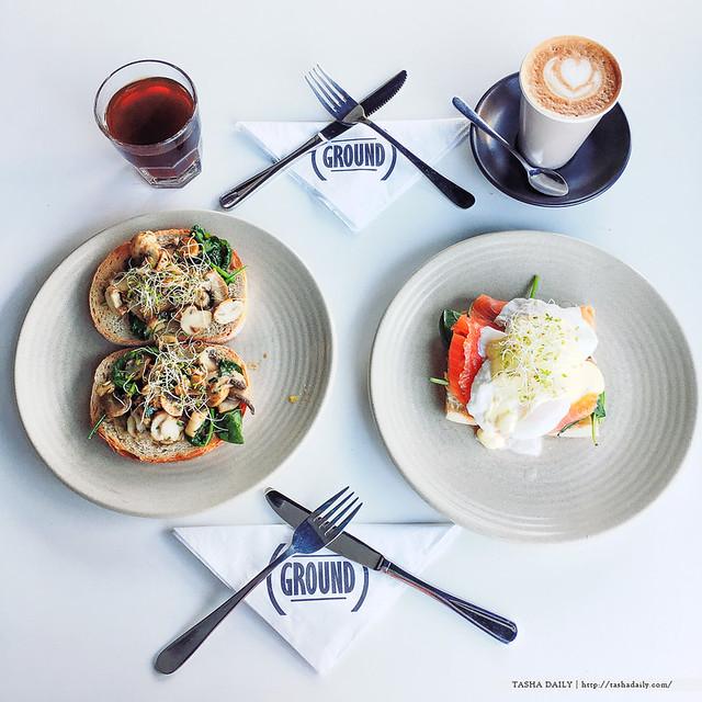 NSW美食︱GROUND CAFE.臥龍崗美食~打造滿滿活力的晨之食