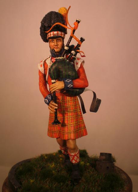 Cornemusier BLACK WATCH - Figurine HISTOREX 54mm 18647840561_3e22b772a3_z