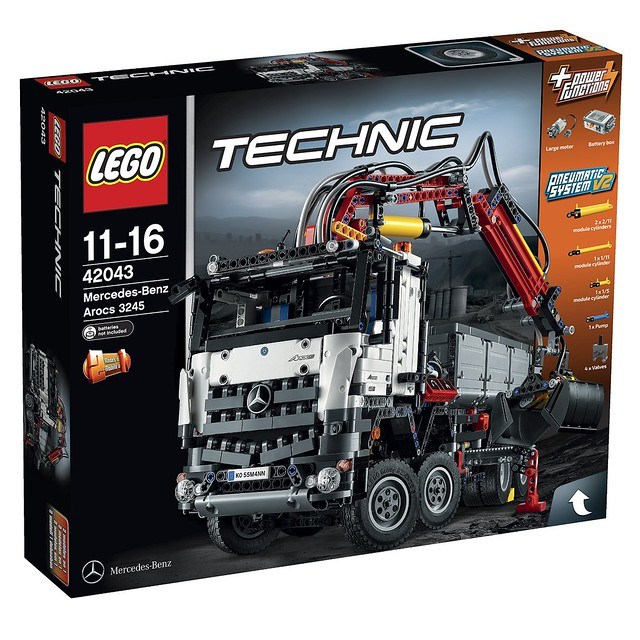 LEGO Technic 2015: 42043 - Mercedes-Benz Arocs 3245