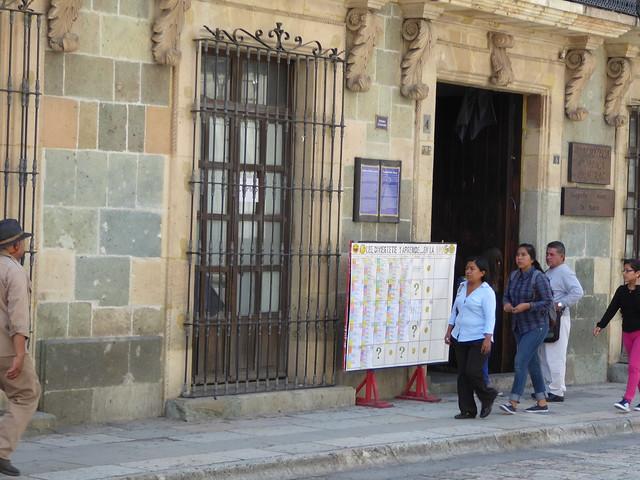 Biblioteca Publica Central, Oaxaca, Mexico