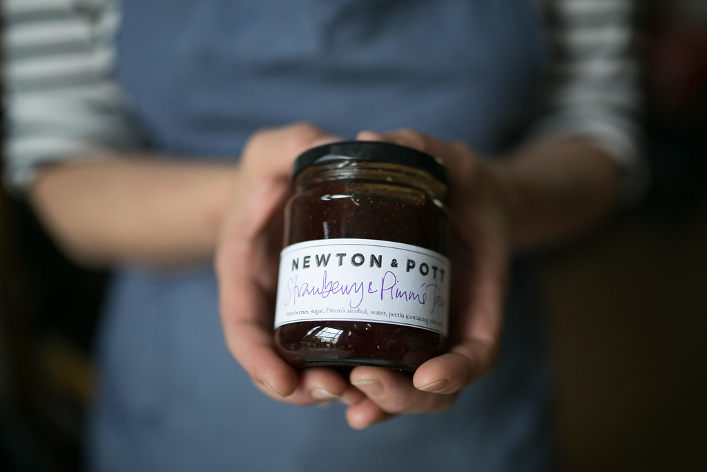 Locality - Kylee Newton of Newton & Pott - making preserves