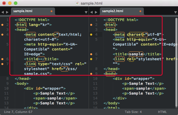 sublimetext-Diffy