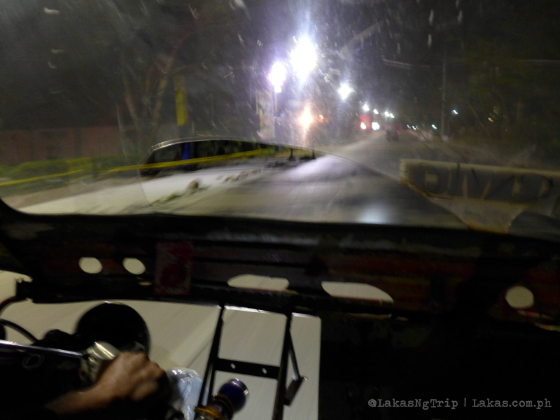 Cherry Bus: Night bus from El Nido to Puerto Princesa, Palawan
