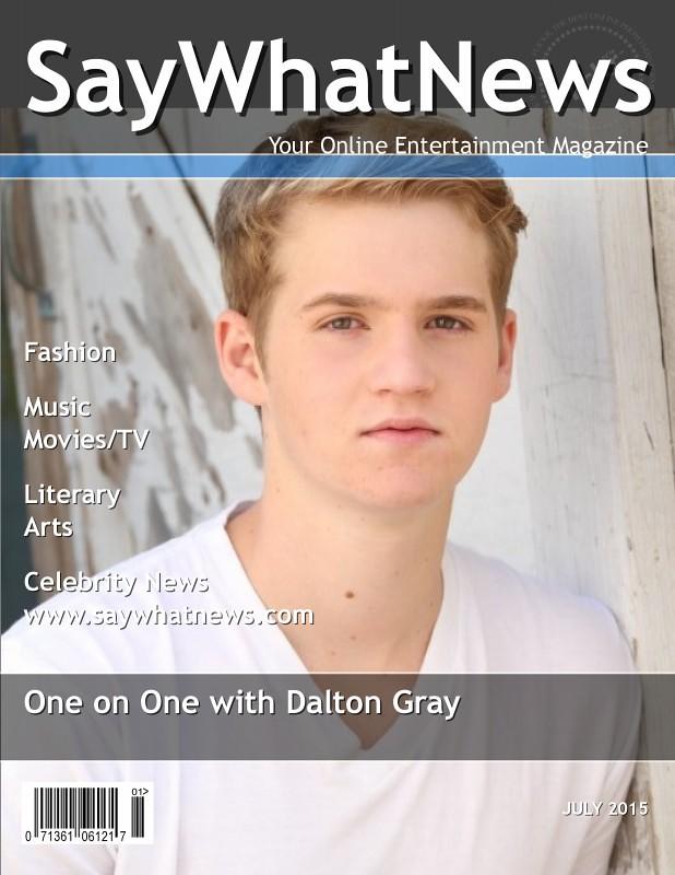 Dalton Gray July 2015 interview