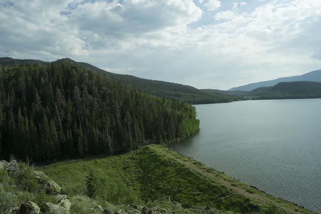 Near Fish lake