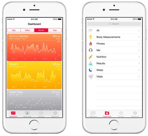 Apple iOS Health