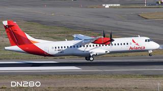 Avianca ATR 72-600 msn 1343