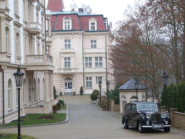 Hotel de lujo en Karlovy Vary, una de las ciudades balneario más bellas de República Checa