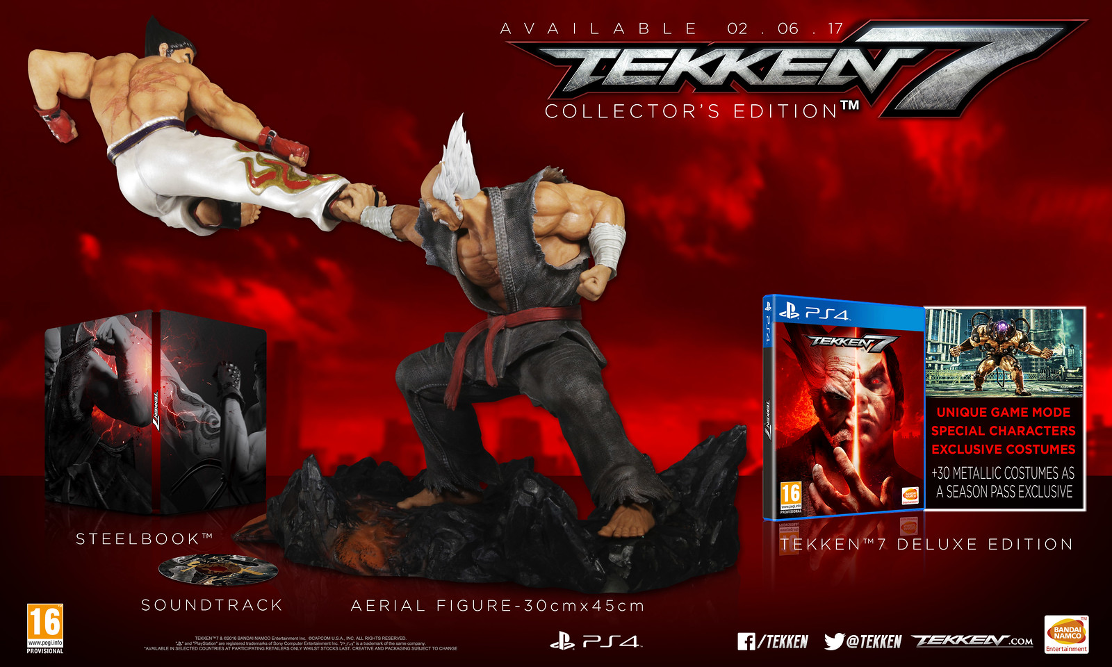 Tekken 7 hits PS4 on 2nd June - watch the epic new trailer