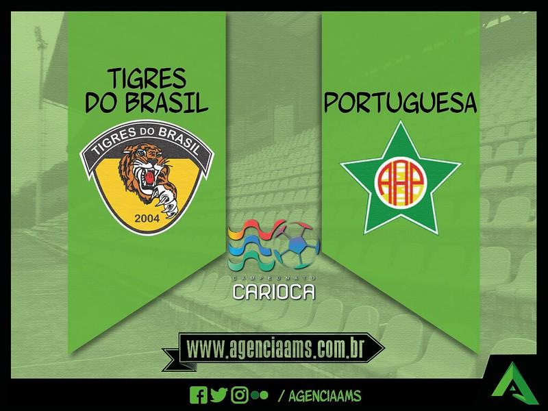 FOTOS | Portuguesa vence Tigres do Brasil fora de casa pelo Carioca