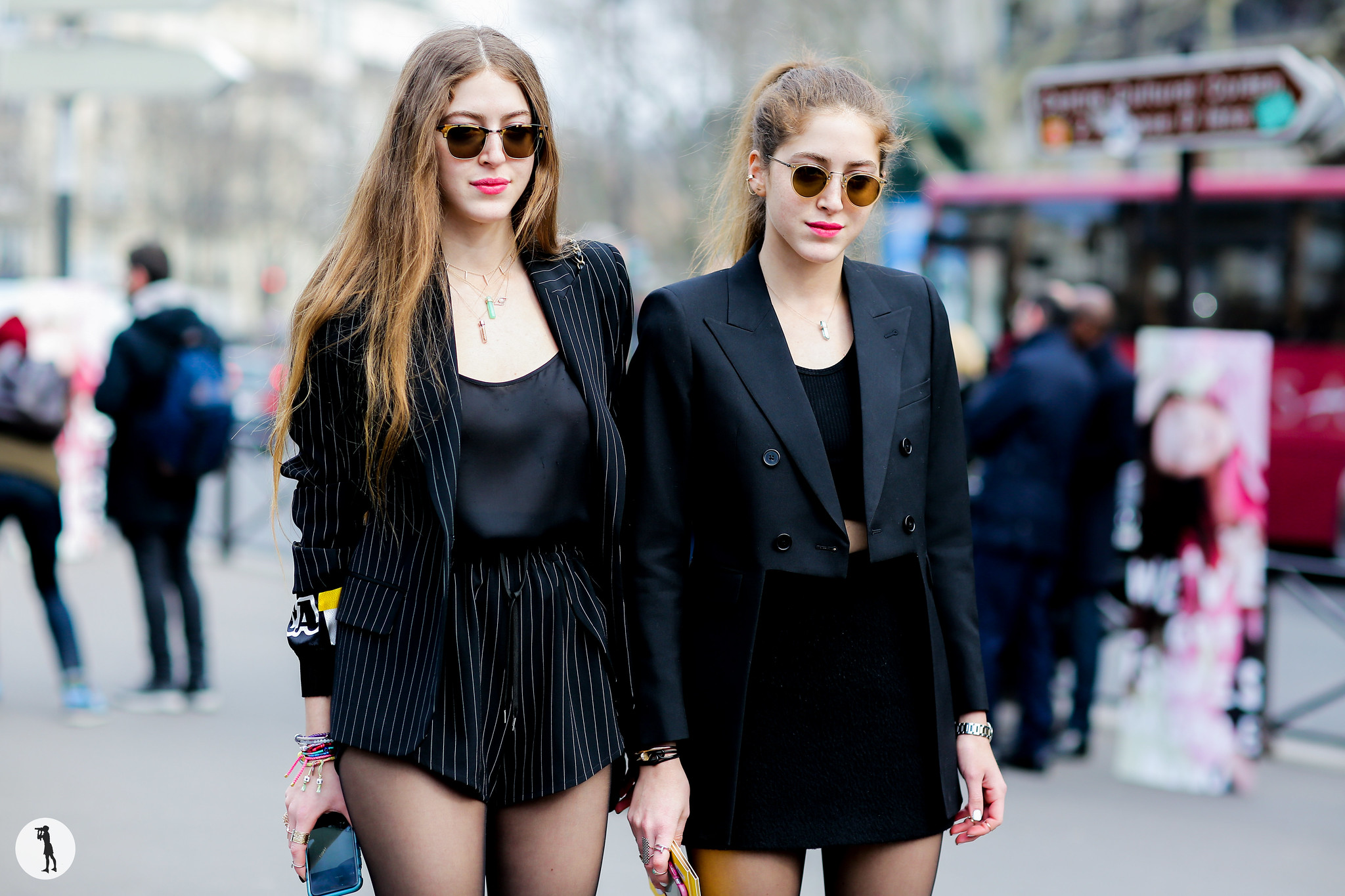 Haya and Sama Abu Khadra - - Paris Fashion Week RDT FW15-16 (1)