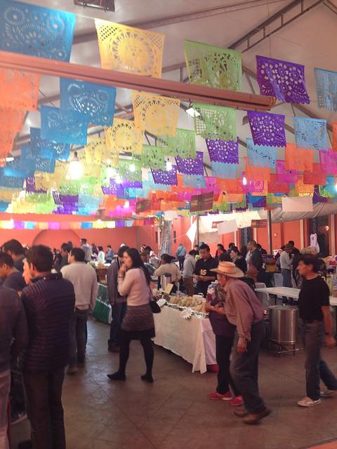 La entrada a la Feria