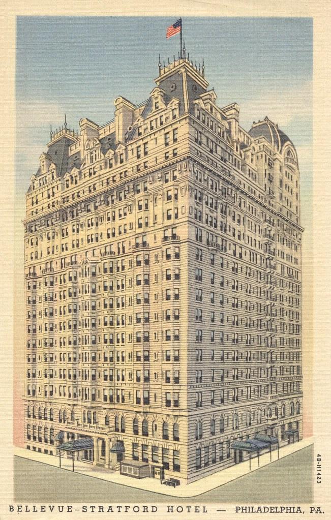 Bellevue-Stratford Hotel - Philadelphia, Pennsylvania