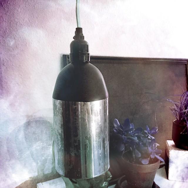 Upcycled Lamp Shade Craft Fail